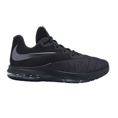 Nike Air Max Infuriate III Low Mens Basketball Shoes Black / Silver US 7, Black / Silver, rebel_hi-res