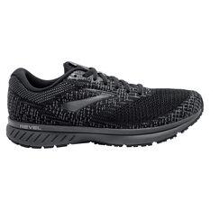 Brooks Revel 3 Mens Running Shoes Black / Grey US 8, Black / Grey, rebel_hi-res