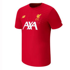 Liverpool FC 2019/20 Mens Pre Game Jersey Red S, Red, rebel_hi-res