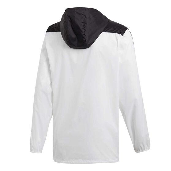 adidas Mens Tiro Windbreaker Jacket, White, rebel_hi-res