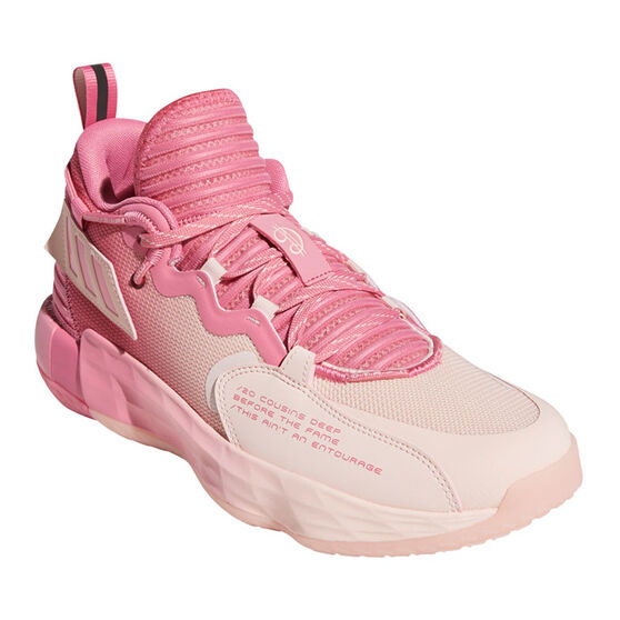 adidas Dame 7 EXTPLY: DAME D.O.L.L.A. Basketball Shoes, Rose, rebel_hi-res