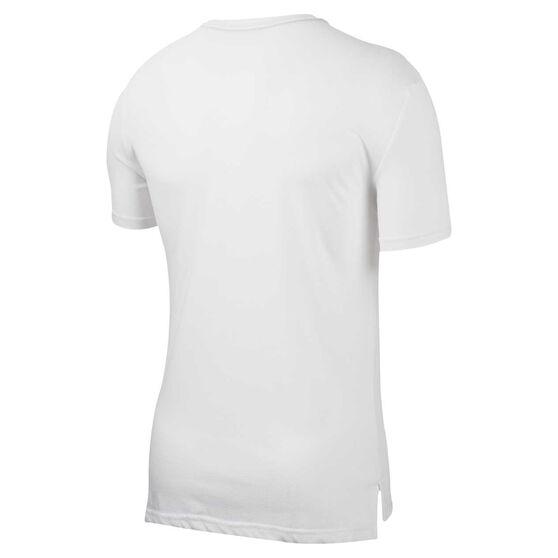 Nike Mens Dri-FIT HPR Training Tee, White, rebel_hi-res