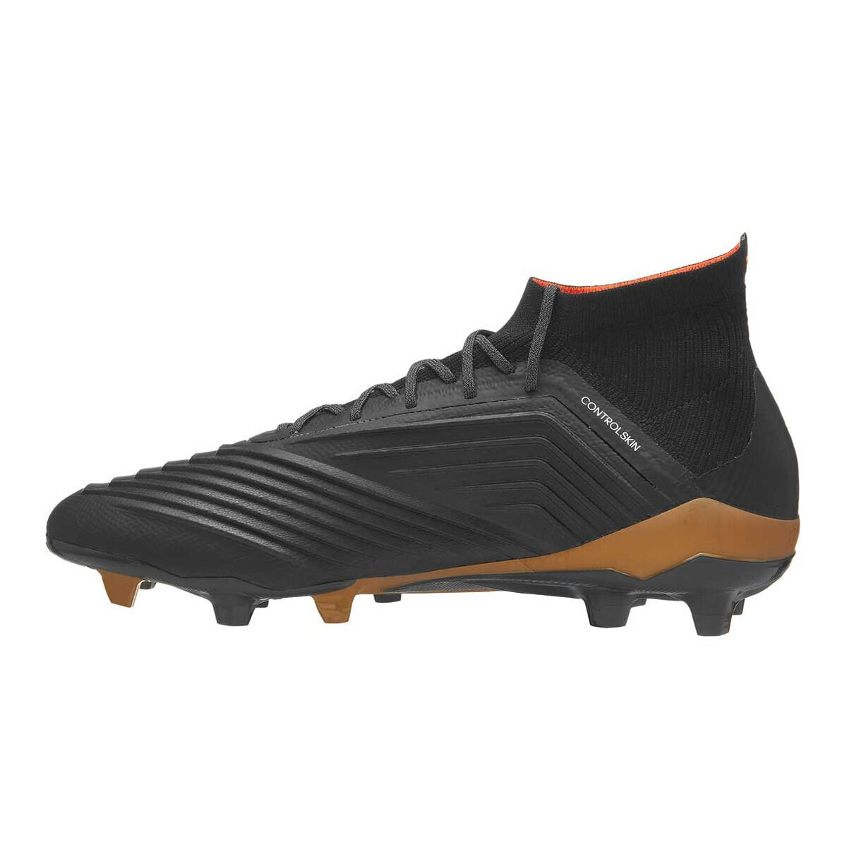 5614ddde2f2 ... reduced adidas predator 18.1 mens football boots black white us 9 adult  black white b8c6e e2078