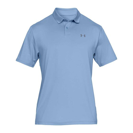 Under Armour Mens Performance  2.0 Polo Blue S, Blue, rebel_hi-res