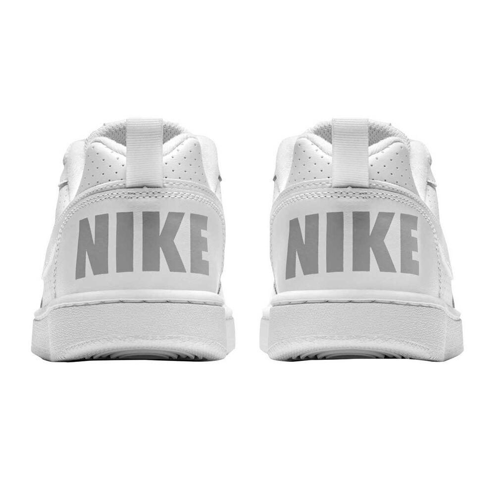 643acf5bca Nike Court Borough Low Boys Shoes White US 7