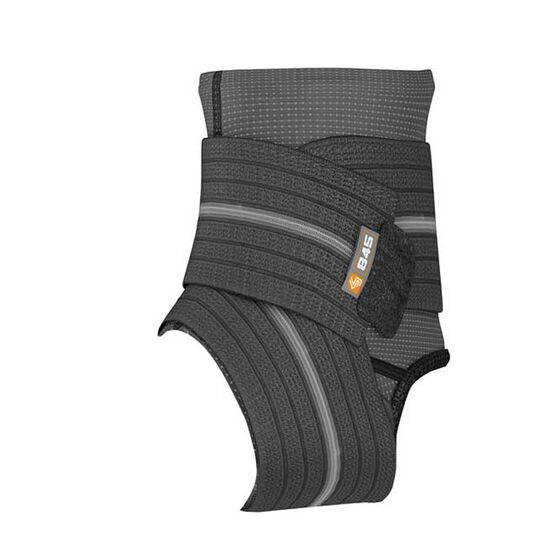 Shock Doctor Ankle Sleeve with Wrap Support, Black, rebel_hi-res