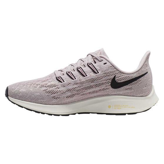 Nike Air Zoom Pegasus 36 Womens Running Shoes, Purple / Black, rebel_hi-res