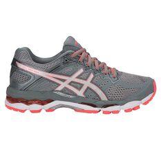 Asics Gel Superion Womens Running Shoes Grey / Coral US 6, Grey / Coral, rebel_hi-res