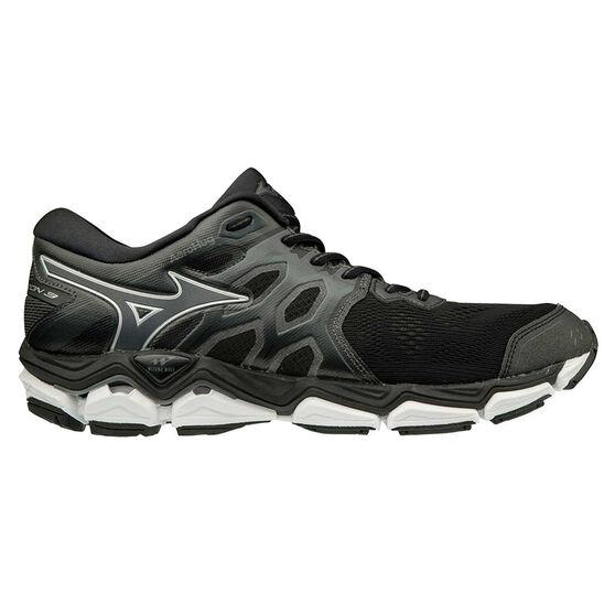 Mizuno Wave Horizon 3 Mens Running Shoes, Black / White, rebel_hi-res