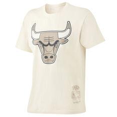 Chicago Bulls Tonal Logo Tee Off White S, , rebel_hi-res
