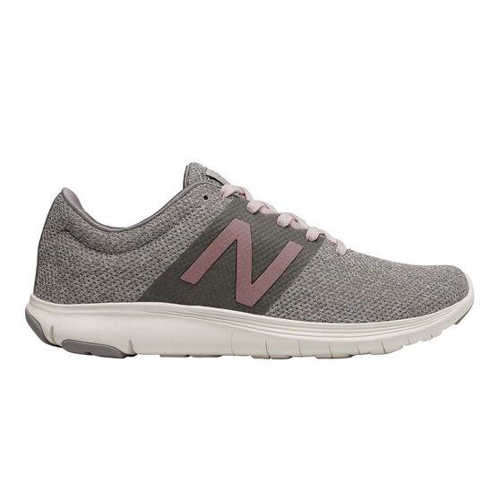 New Balance Koze Womens Running Shoes, Grey / Pink, rebel_hi-res