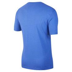 Nike Mens Sportswear Graphic Tee Blue XS, Blue, rebel_hi-res