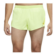 Nike Mens AeroSwift Running Shorts Green S, , rebel_hi-res