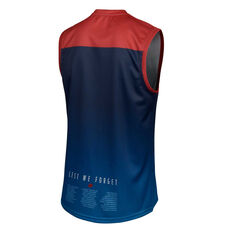 Melbourne Demons 2019 Mens Commemorative Guernsey Blue / Red S, Blue / Red, rebel_hi-res