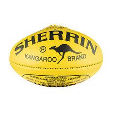 Sherrin KB Australian Rules Ball Yellow 4, , rebel_hi-res