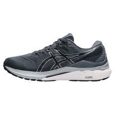 Asics GEL Kayano 28 4E Mens Running Shoes Grey/Black US 7, Grey/Black, rebel_hi-res