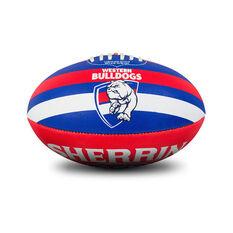 Sherrin AFL Western Bulldogs Synthetic Ball, , rebel_hi-res