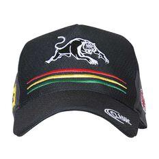 Penrith Panthers 2018 Training Cap Black OSFA, , rebel_hi-res