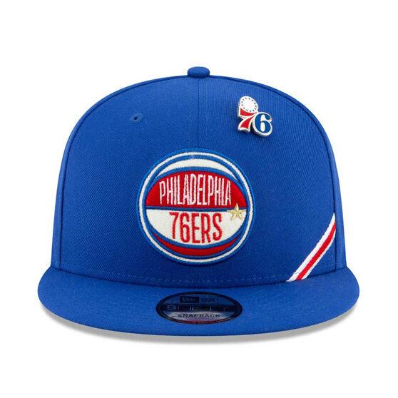 Philadelphia 76ers 2019 New Era 9FIFTY Draft Cap, , rebel_hi-res