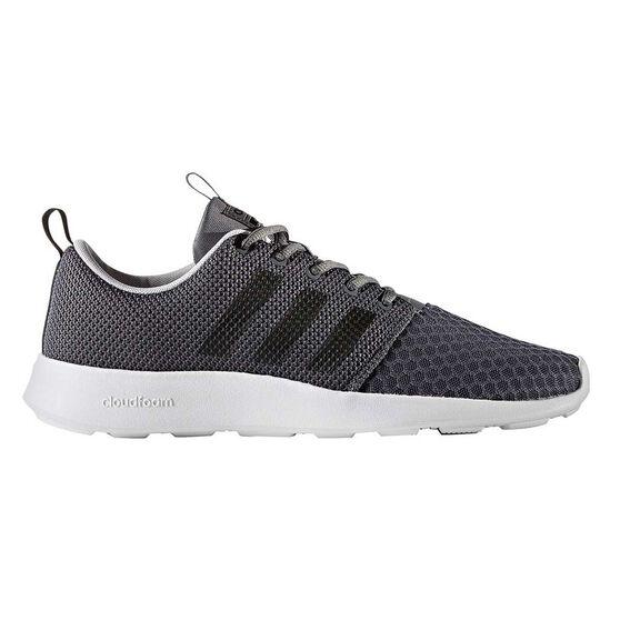 9dc24a5d4ab adidas Cloudfoam Swift Racer Mens Casual Shoes Grey   Black US 10 ...