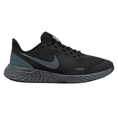 Nike Revolution 5 Kids Running Shoes Black US 4, Black, rebel_hi-res