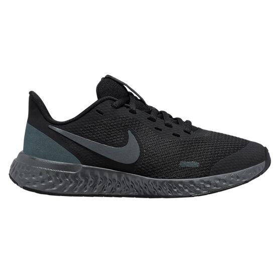 Nike Revolution 5 Kids Running Shoes, Black, rebel_hi-res