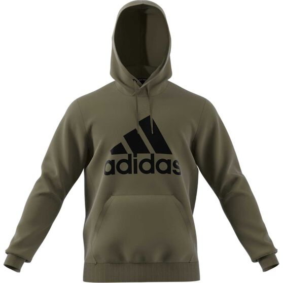 official photos b0c94 43a3d adidas Mens Must Haves Badge of Sport Fleece Pullover Hoodie, Khaki,  rebel hi-res