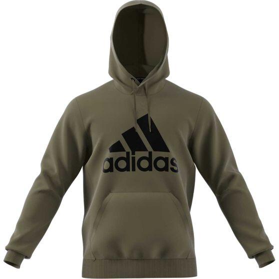 702cee5a465 adidas Mens Must Haves Badge of Sport Fleece Pullover Hoodie Khaki M,  Khaki, rebel_hi