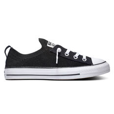 Converse Chuck Taylor All Star Shoreline Knit Low Top Womens Casual Shoes Black / White US 6, Black / White, rebel_hi-res