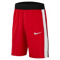 Nike Boys Avalanche Basketball Shorts Red / Black S, Red / Black, rebel_hi-res