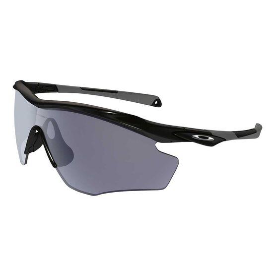 ef1bb8d77e8ad Oakley M2 Frame XL Sunglasses Black   Grey