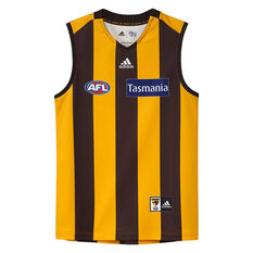 Hawthorn Hawks 2019/20 Kids Home Guernsey Yellow / Black 10, Yellow / Black, rebel_hi-res