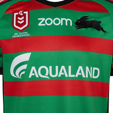 South Sydney Rabbitohs 2019 Mens Home Jersey, Red / Green, rebel_hi-res