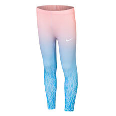 Nike Girls Gradient Just Do It Leggings Print 4, Print, rebel_hi-res