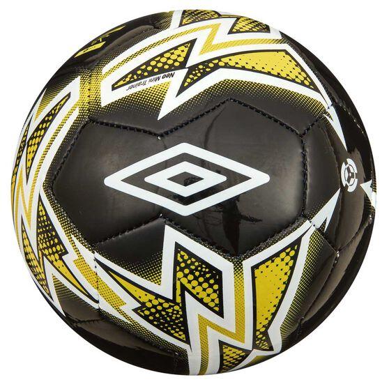 Umbro Neo Trainer Mini Soccer Ball Black / White  1, , rebel_hi-res