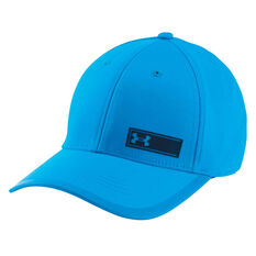 Under Armour Mens Threadborne Training Cap Blue L / XL Adult, Blue, rebel_hi-res