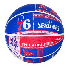 Spalding NBA Philadelphia 76ers Ugly Sweater Basketball, , rebel_hi-res