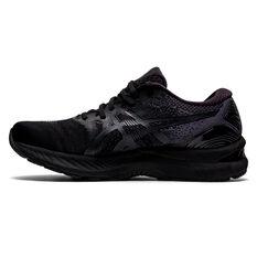 Asics GEL Nimbus 23 Mens Running Shoes Black US 7, Black, rebel_hi-res