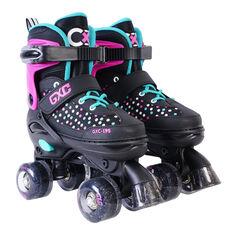 Goldcross GXC195 Roller Skates Pink US 12-2, Pink, rebel_hi-res