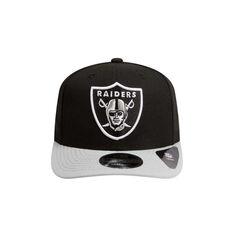 Oakland Raiders 2019 New Era 9FIFTY Original Fit Cap Black / Grey S / M, Black / Grey, rebel_hi-res