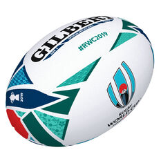 Gilbert Rugby World Cup Japan 2019 Replica Game Ball White / Navy 5, , rebel_hi-res