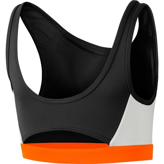 Nike Womens Icon Clash Sports Bra, Black, rebel_hi-res