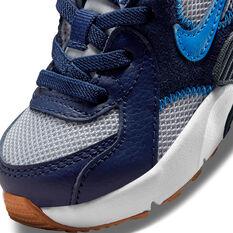 Nike Air Max Excee Toddlers Shoes, Grey/Blue, rebel_hi-res