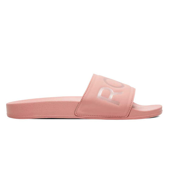 Roxy Slippy Womens Slides, Rose, rebel_hi-res