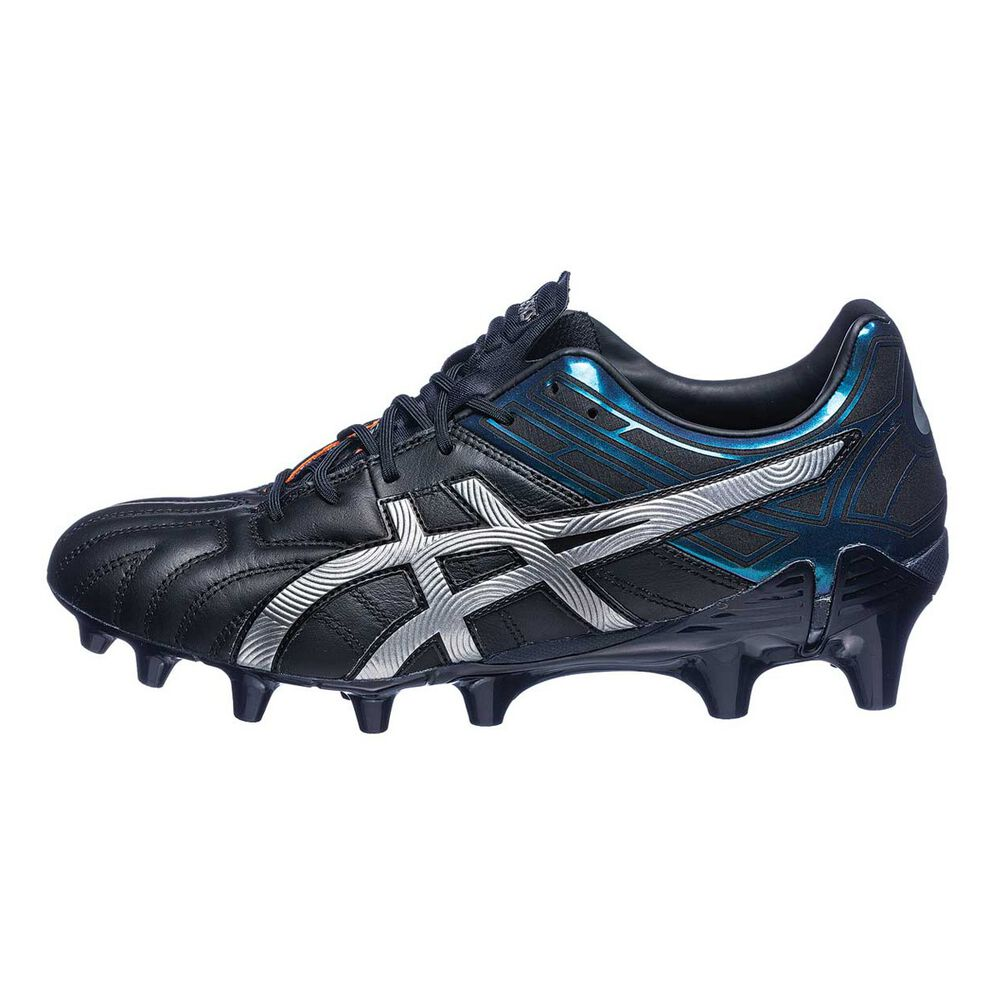 Asics GEL Lethal Tigreor 10 IT Mens Football Boots Black   Silver US 11.5  Adult f17c3aaa4059