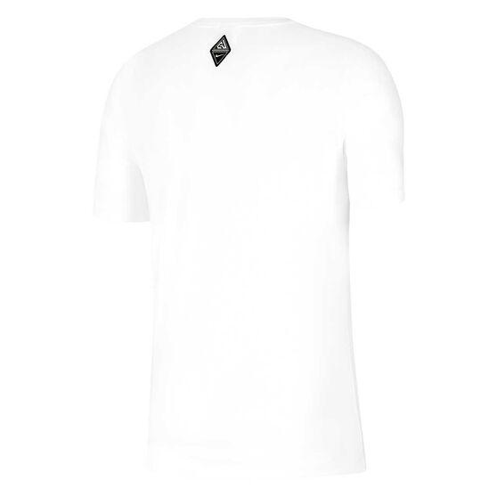 Nike Mens Dri-FIT Giannis Freak Basketball Tee, White, rebel_hi-res