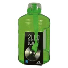 Russell Athletics 2L PD Dual Cap Water Bottle 2200ml Lime, , rebel_hi-res