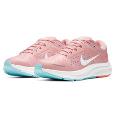 Nike Air Zoom Structure 23 Womens Running Shoes, Pink/White, rebel_hi-res