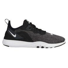 Nike Flex Trainer 9 Womens Training Shoes Black / White US 9.5, Black / White, rebel_hi-res