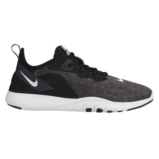 Nike Flex Trainer 9 Womens Training Shoes, Black / White, rebel_hi-res